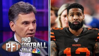 PFT Overtime: OBJ's cleat problem, disaster with Jets, Browns | Pro Football Talk | NBC Sports