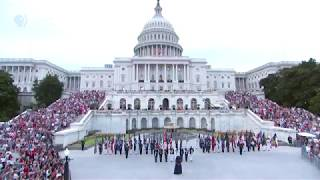 """Kyla Jade Performs """"The Star-Spangled Banner"""" At The 2018 A Capitol Fourth"""