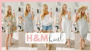 AFFORDABLE SUMMER OUTFITS 2019 | H&M CLOTHING TRY ON HAUL | Amanda John