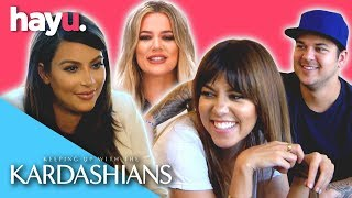Funniest Brother And Sister Moments! 😂| Keeping Up With The Kardashians