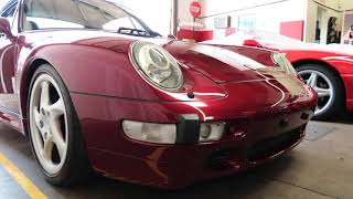 Van Halen's RUF modified Porsche 993 Turbo previously listed on BAT now with Hardrock Cafe
