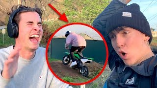 HILARIOUS WIPEOUT CAUGHT ON CAMERA