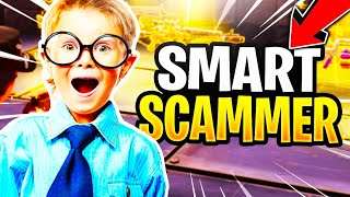 Smart Scammer Nearly Scams Me! (Scammer Gets Scammed) Fortnite Save The World
