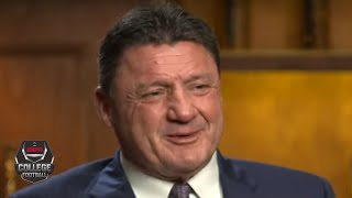 We'll be remembered as one of the greatest teams ever - Ed Orgeron on LSU | College Football on ESPN