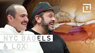 Adam Richman's Take on NYC's Bagels & Lox    Food/Groups