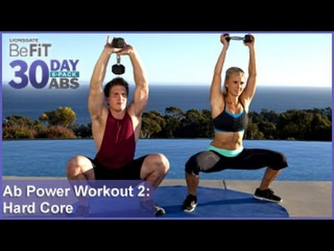 ab power workout 2 hard core training  30 day 6 pack abs