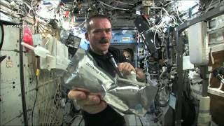 Wringing out Water on the ISS - for Science! - YouTube