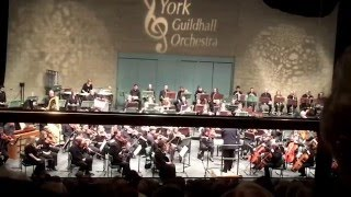 York Guildhall Orchestra at The Barbican May 2016