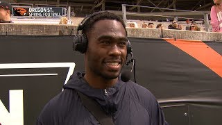L.A. Rams wide receiver Brandin Cooks on 'being able to visit the campus more often,' keep up...