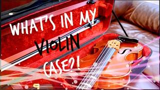 What's in My Violin Case?   StringsByTee