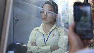 Nhân viên trạm thách thức tài xế tại BOT Cần Thơ – Phụng Hiệp