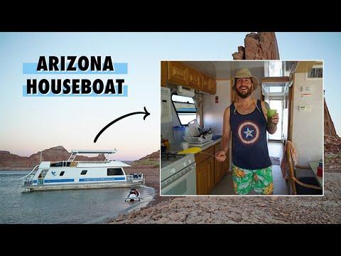 Renting A Houseboat in Arizona