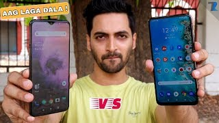 Asus 6Z vs Oneplus 7 - Camera,Performance,Heating,Display,Battery & More