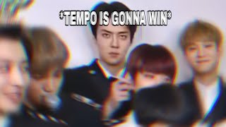 Sehun knew EXO is gonna get a 2nd win
