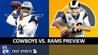 Cowboys vs. Rams Preview, Injury Report News On Amari Cooper, Jourdan Lewis, Chidobe Awuzie & Dak
