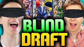 BLIND DRAFT AND PLAY VS TDPRESENTS - NBA 2K16 DRAFT
