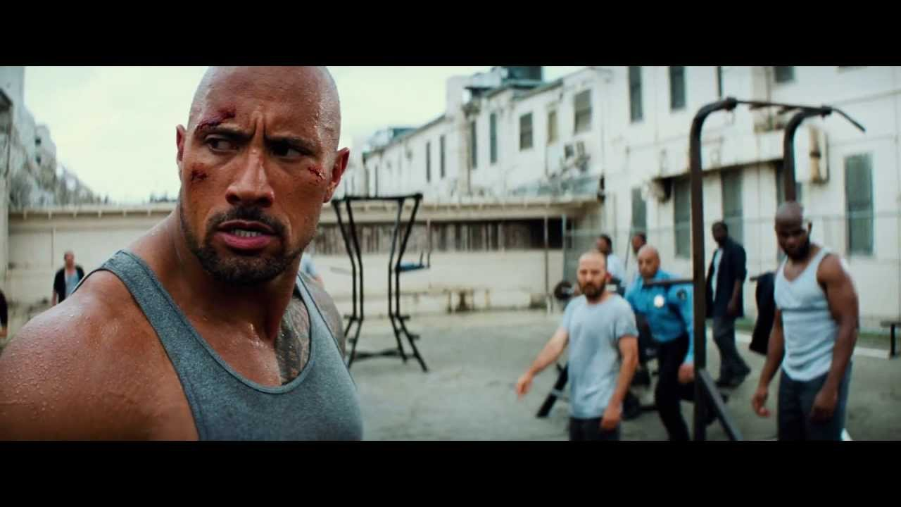 the rock jail_Pain Gain (The Rock Fight) 2013 - YouTube