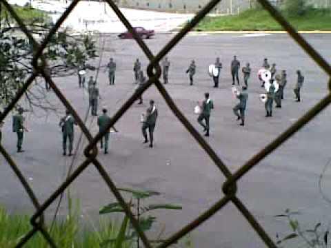 Banda marcial del ejercito Venezuela