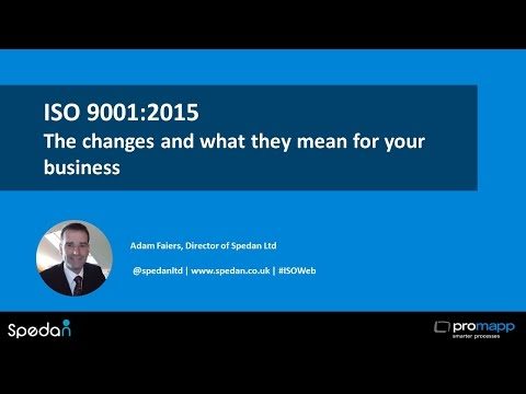 ISO 9001:2015 - the changes and what they mean for your business