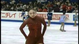 Miki Ando - 2007 Worlds FS (ESPN)