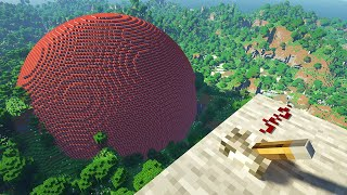 Blowing up 1 MILLION TNT on Minecraft RTX...
