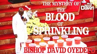 🌻 Bishop David Oyedepo|Cross Over Night|Mystery Of The Blood Of Sprinkling |Jan.1/2018