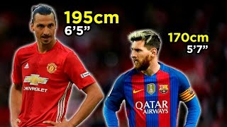 How Tall Are The Best Footballers In The World?