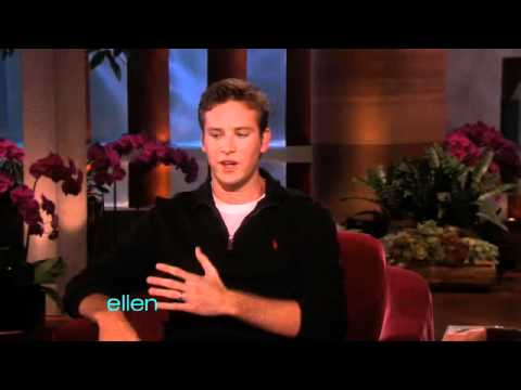 Armie Hammer on Bullying - YouTube