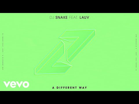DJ Snake ft. Lauv - A Different Way