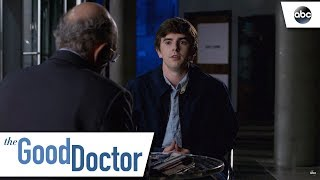 Shaun Sticks By Dr. Glassman - The Good Doctor