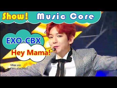 [HOT] EXO-CBX - Hey Mama!, 첸백시 - 헤이 마마! Show Music core 20161112