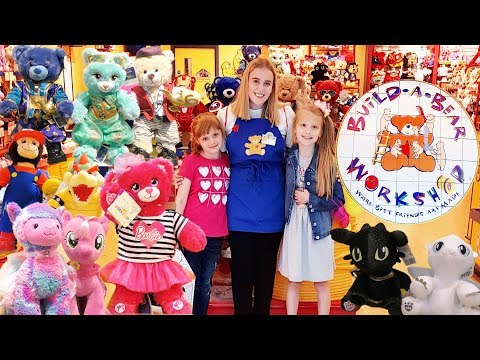Build A Bear Birthday adventure with Ava