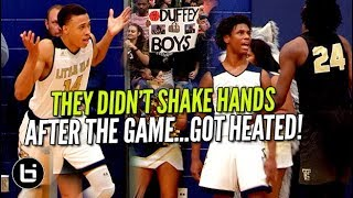 THEY DIDN'T SHAKE HANDS AFTER THE GAME! RJ Hampton Goes Off Ballislife Highlights