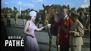 Royal Tour Of Ethiopia (1965) - ንግሥት ኤልሣቤጥ በኢትዮጵያ! 1965