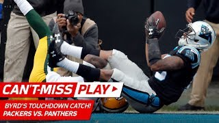 Olsen's Sick One-Handed Catch & Byrd Scores TD by a Cheek! | Can't-Miss Play | NFL Wk 15