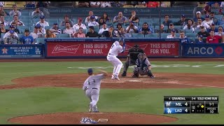 Yasmani Grandal Walk Off 2-Run Home Run vs Brewers | Dodgers vs Brewers