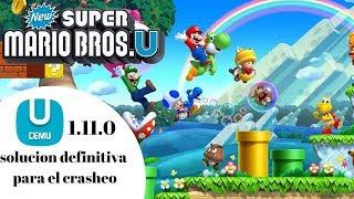 Cemu 1 15 8 New Super Mario Bros U Crash Fix (2019) - BenSHI