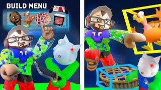 ROBLOX FGTeeV Build Mode Game Hangout (100th Roblox Video)