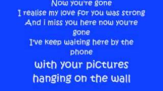 Basshunter-Now You're Gone with lyrics [HQ]