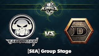 XctN vs DeToNator Game 2 - King's Cup 2 SEA: Group Stage w/ Xyclopzz, Danelie, Tsunami & Jenkins