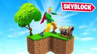 Welcome to Fortnite SKYBLOCK!