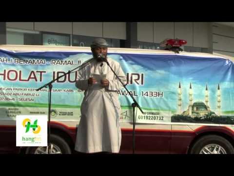 Khutbah Eldulfitri 1433H/2012 - Ustaz Abu Fairuz LC