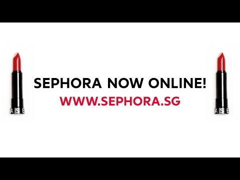 Sephora Now Online In Singapore!