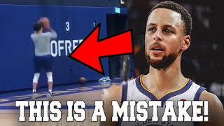 The Golden State Warriors are Making a HUGE MISTAKE with Steph Curry