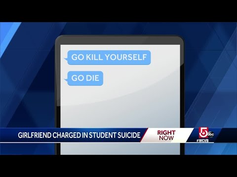 Girlfriend sent thousands of texts prior to student's suicide