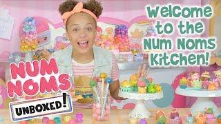 Unboxed! | Num Noms | Episode 1: Welcome to the Num Noms Kitchen!