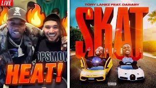 Adin & Tory Lanez REACT to Tory Lanez - SKAT (feat. DaBaby)