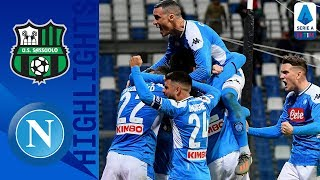 Sassuolo 1-2 Napoli | Injury Time OG Give Napoli The Win! | Serie A TIM