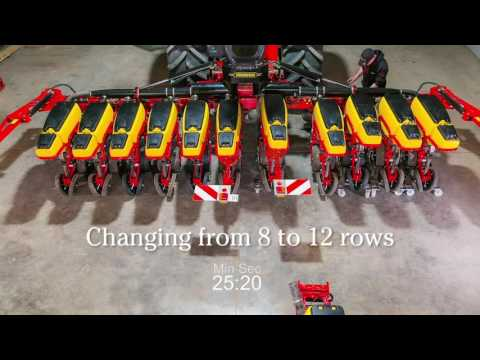 Tempo 12 Row  Easy Conversion From 8 to 12 Rows