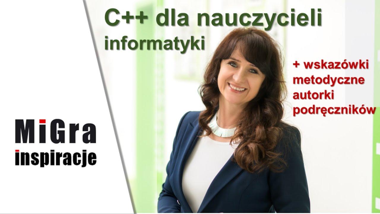 C++ dla nauczycieli